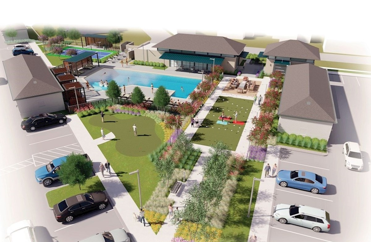 Future Amenity Center with Pool