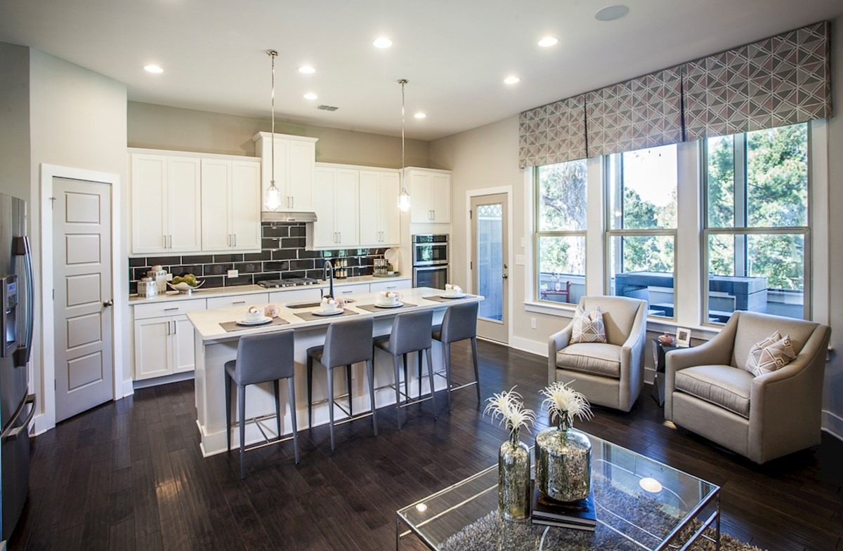 Towns at North Peachtree Camden energy-efficient kitchen