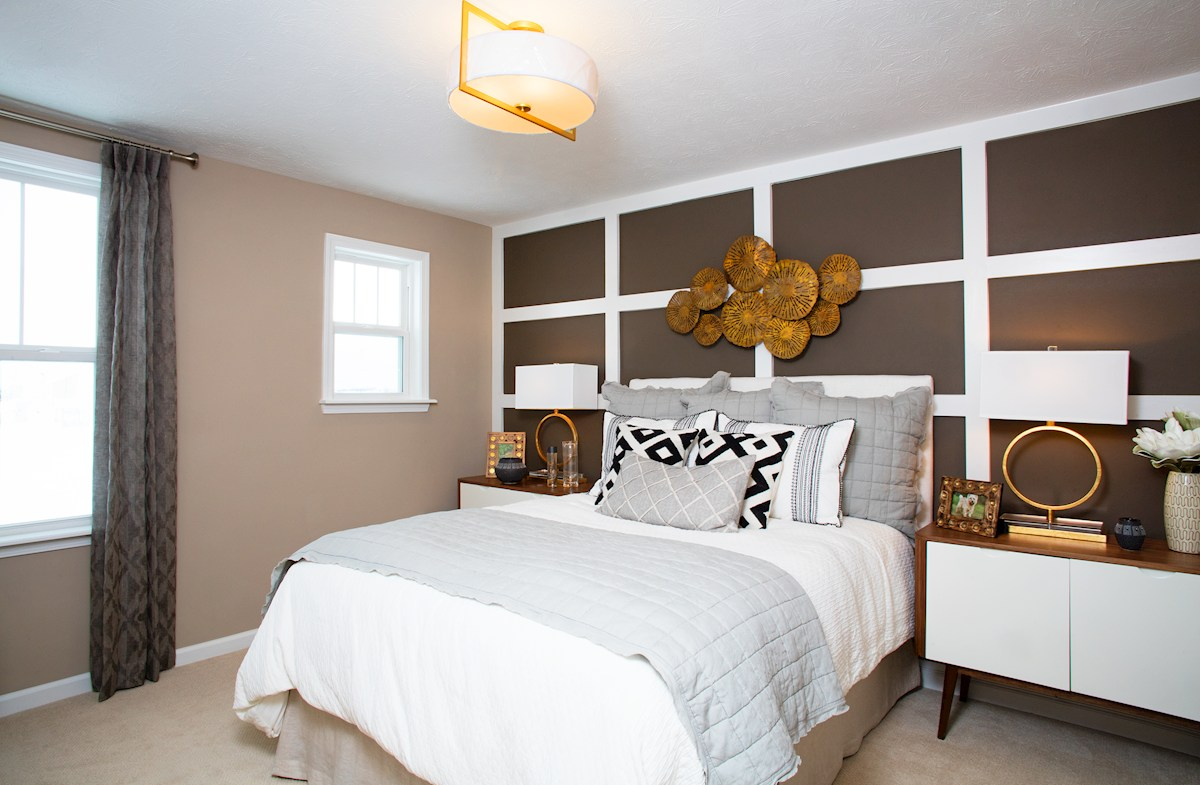 Summerland Park Whitley spacious guest bedroom