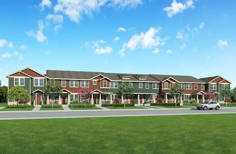 townhome building exterior