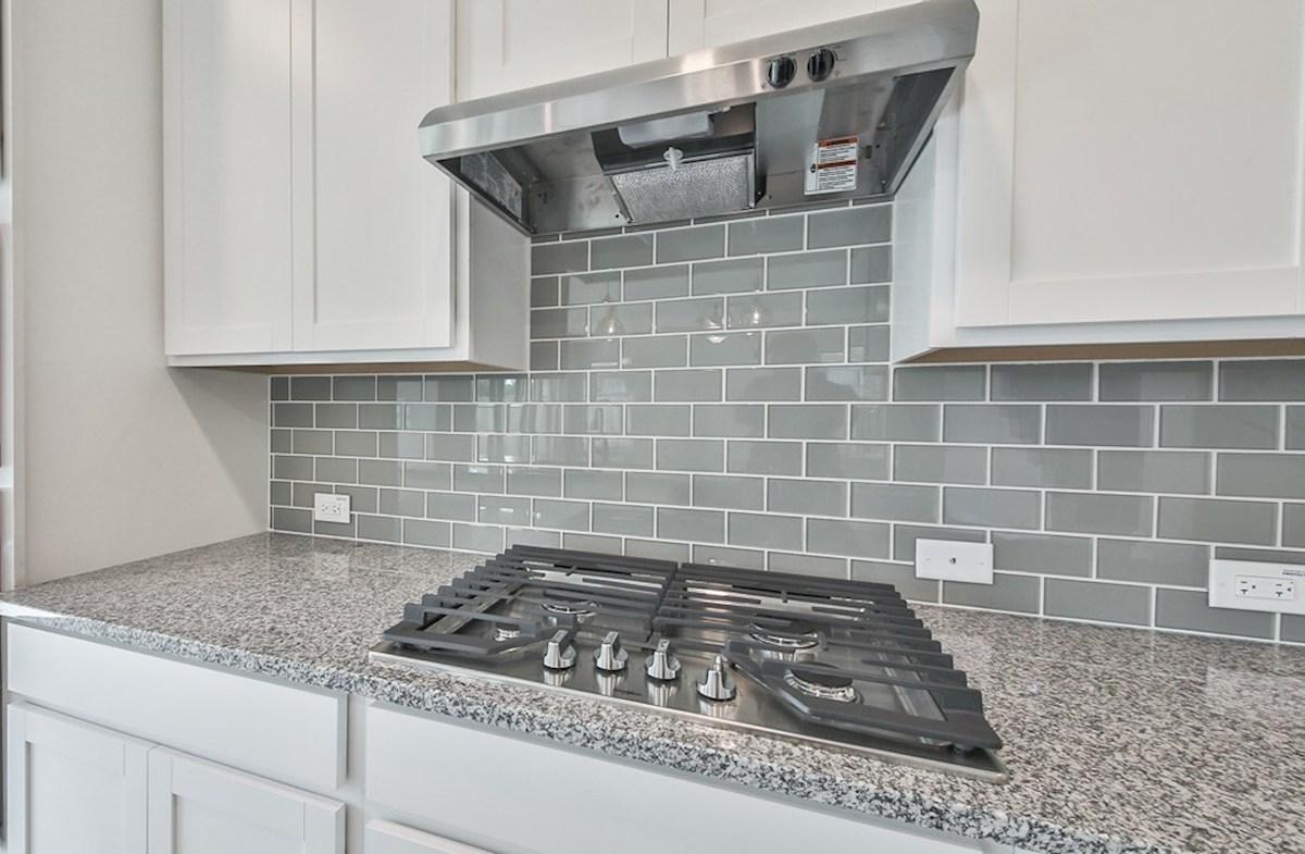 Juniper quick move-in built-in range in kitchen