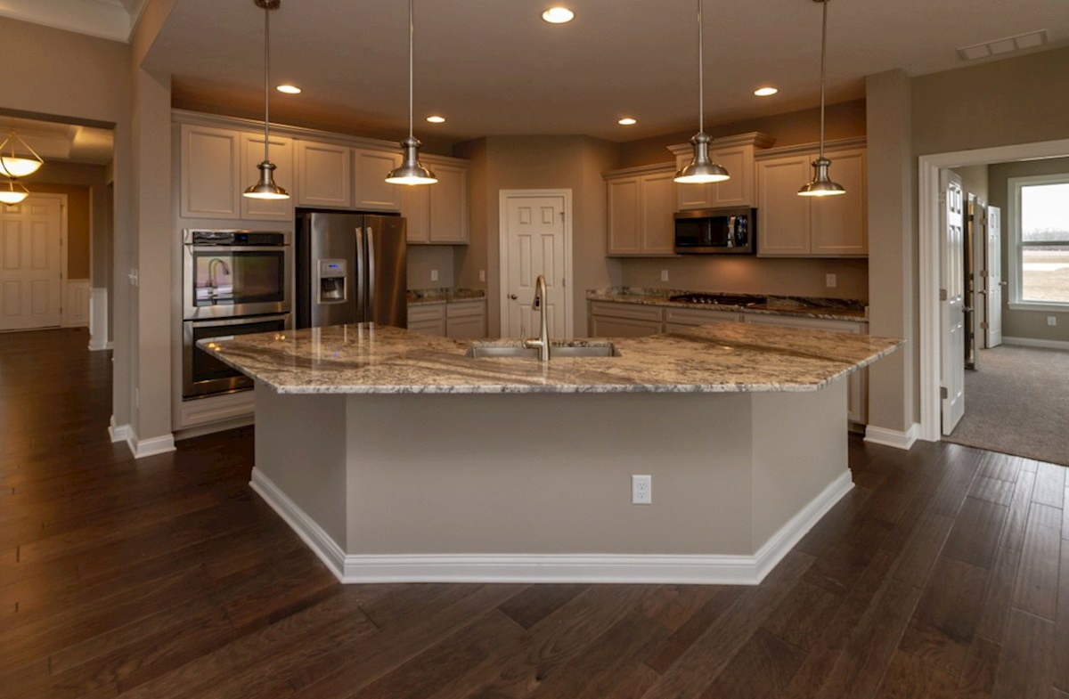Capitol quick move-in gourmet kitchen with stainless steel appliances