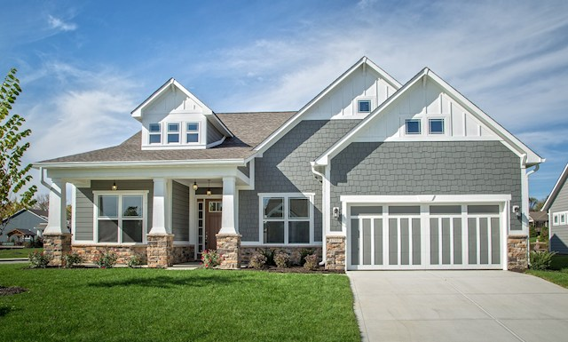 Cambridge Home Plan In Reserve At Woodside Noblesville In Beazer Homes Beazer Homes