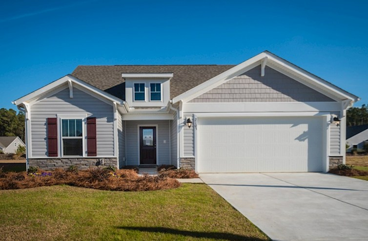 Summerton Elevation Arts & Crafts A quick move-in