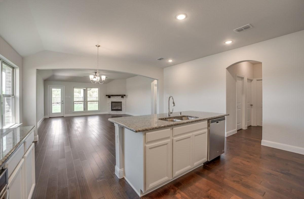 Silverado quick move-in Silverado kitchen opens directly to the great room