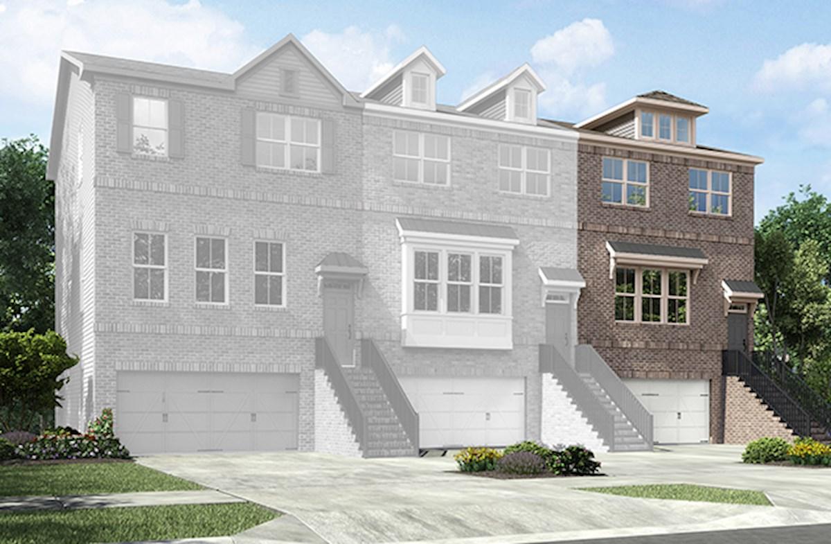 Camden Home Plan in Peachtree Creek Township, Atlanta, GA | Beazer ...