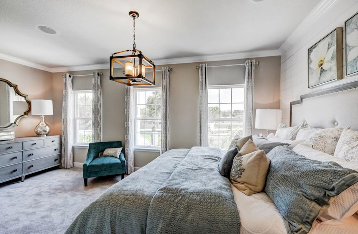 Harpeth Springs Village Vanderbilt relaxing master bedroom