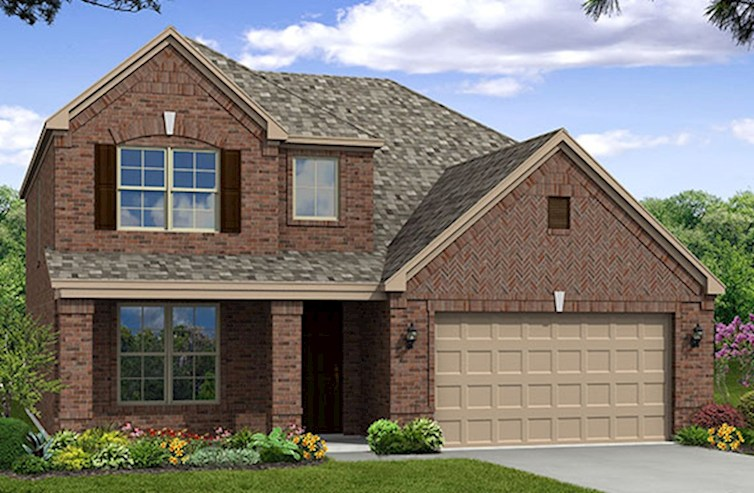 Brookhaven Elevation Traditional O