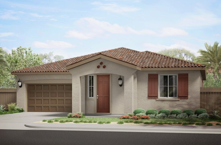 Clover Elevation Spanish Colonial L