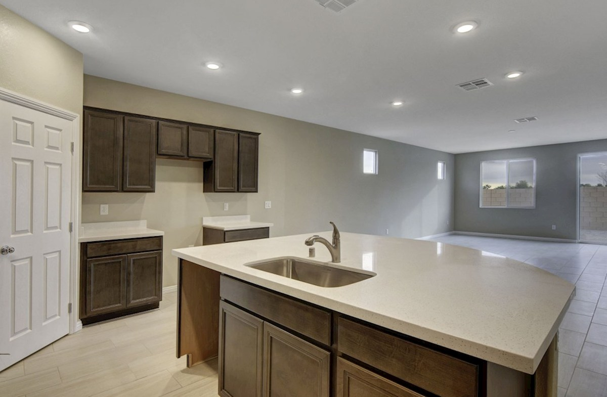 Zion quick move-in Oversized island in Kitchen-homesite #90