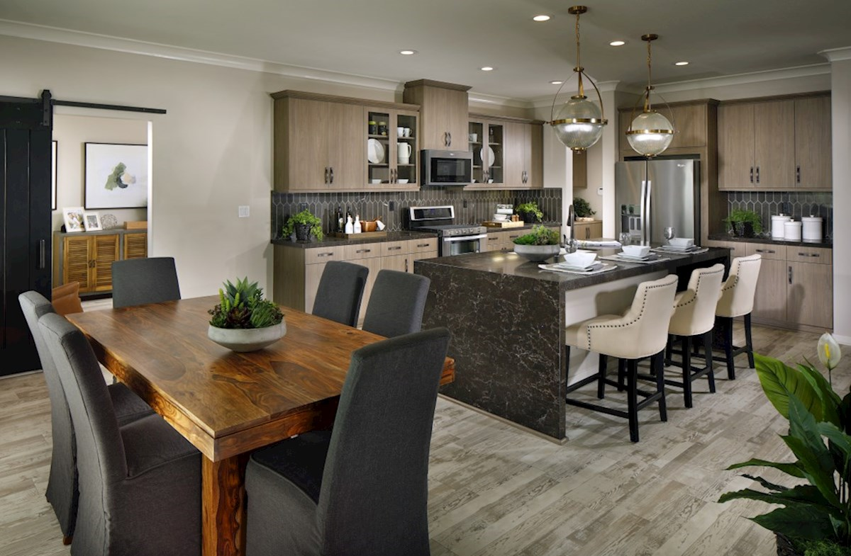 The Glen at Summerly Sonoma Enjoy casual dining in this open kitchen