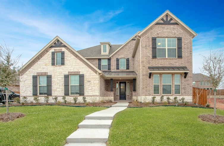 Trinity Elevation French Country M quick move-in
