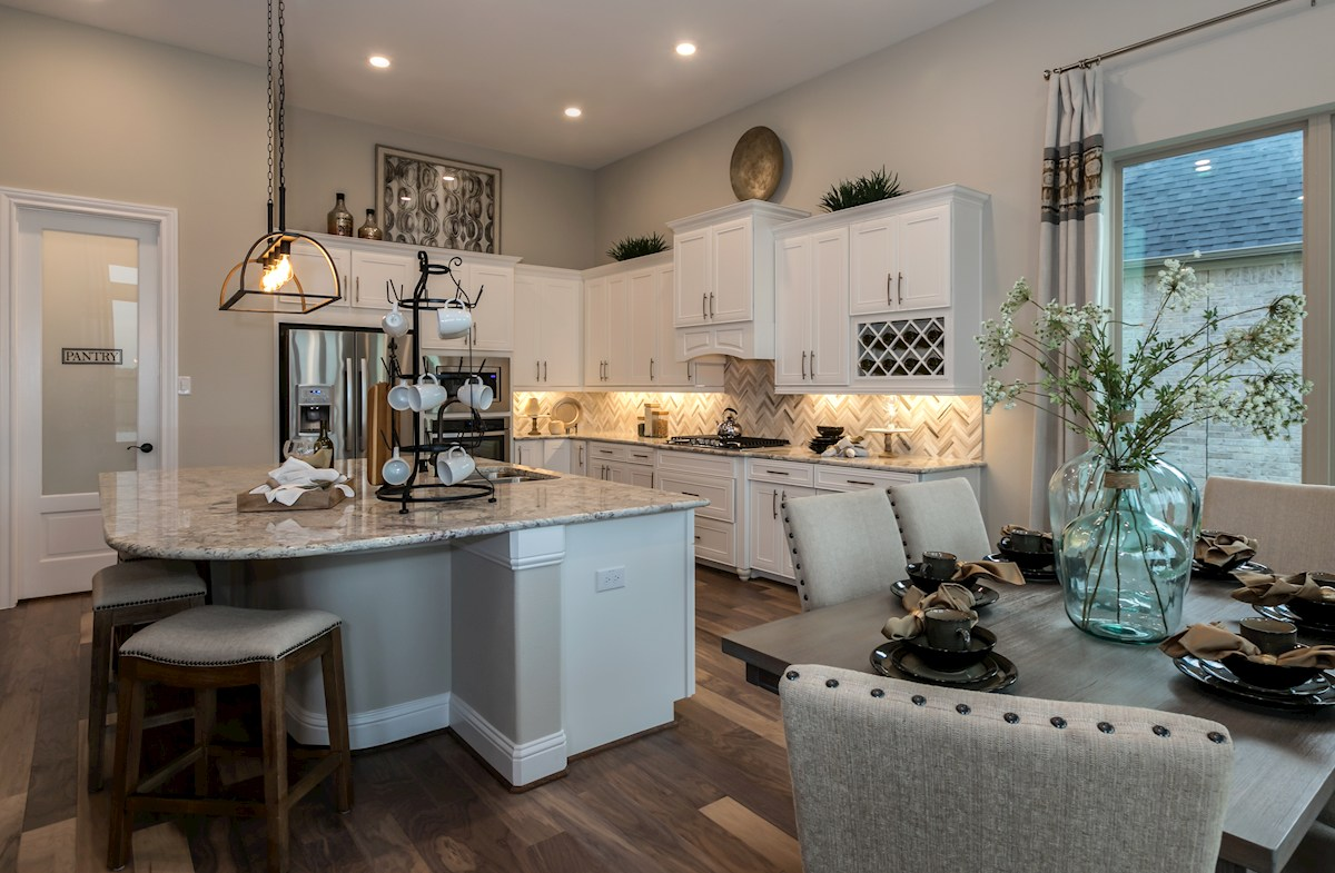 Young Ranch Aldrin open Choice kitchen