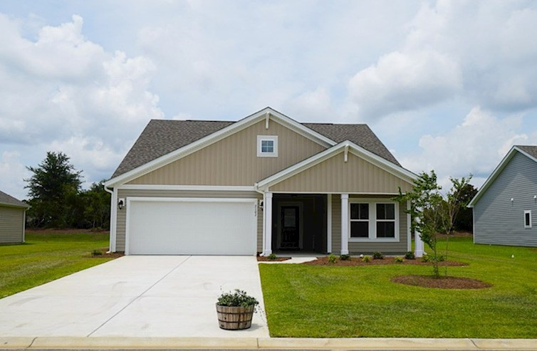Summerton Elevation Coastal A quick move-in