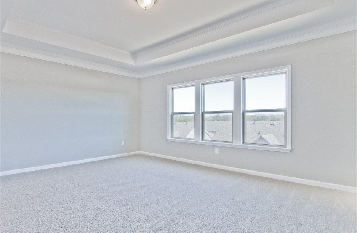 Dogwood II quick move-in Master Bedroom with tray ceiling