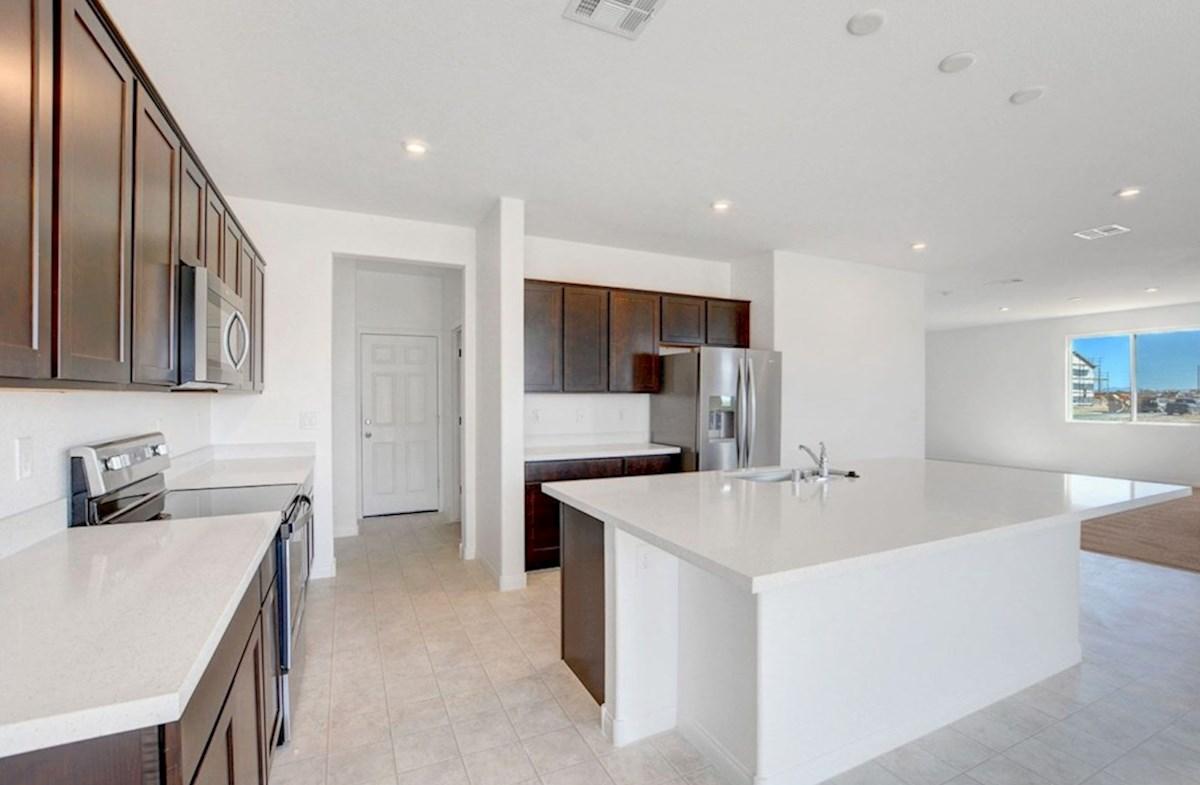 Sienna quick move-in Burson Enclave, Pahrump, NV  Sienna Kitchen
