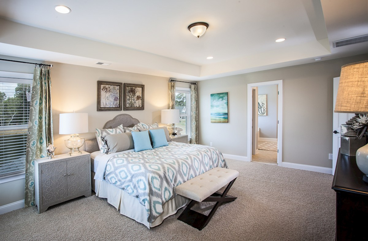 Hunt Club Rushmore bright master bedroom