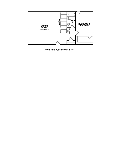 Main floor plan for Second Floor