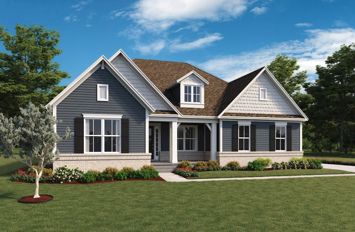 Delaware Home Plan In Hampshire Meridian Collection Zionsville In Beazer Homes Beazer Homes