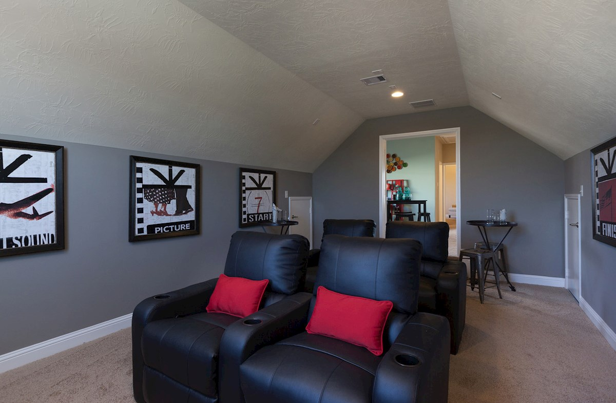 Bridgeland: Parkland Village Fenway spacious media room