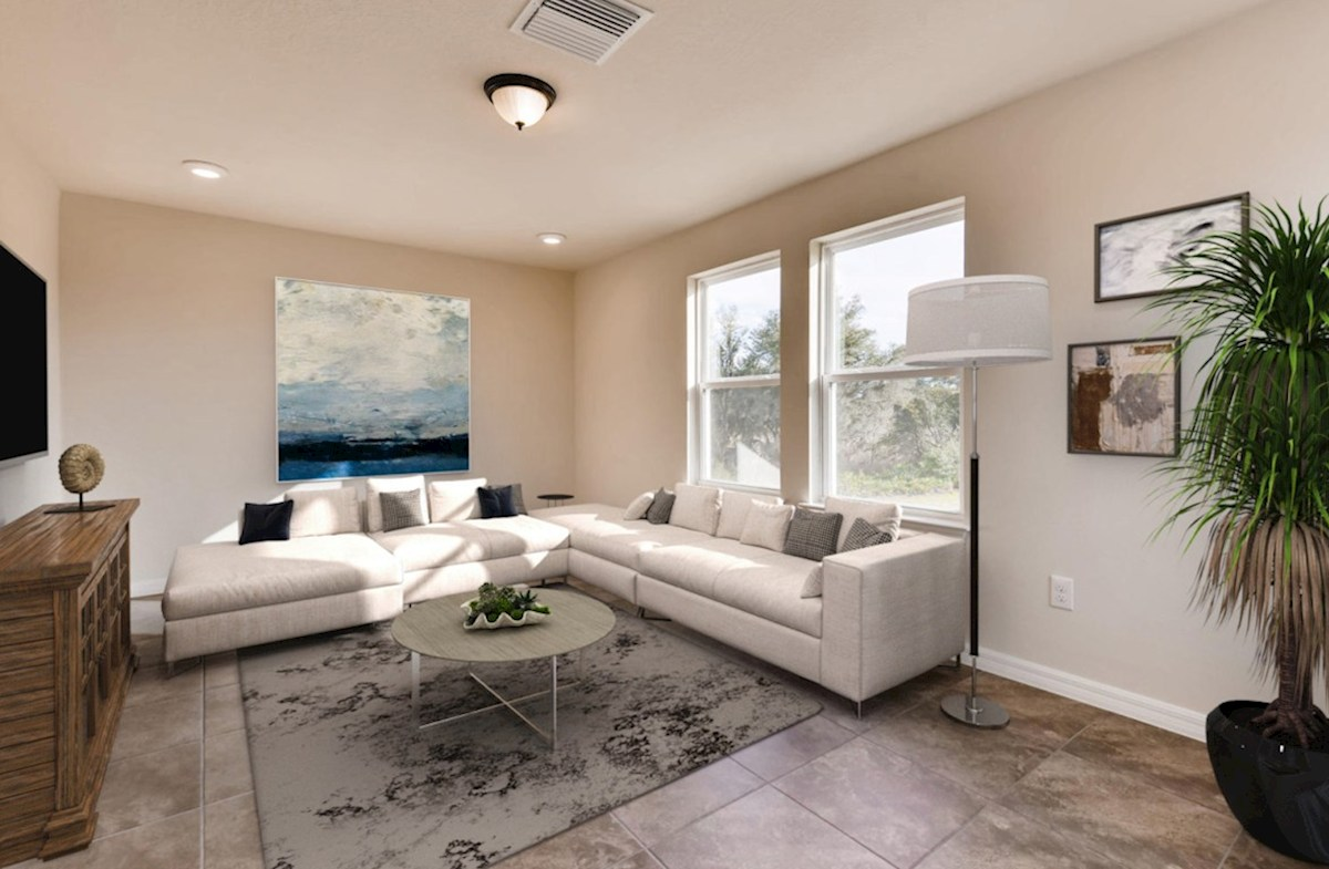 Sea Breeze quick move-in Tiled loft virtually staged
