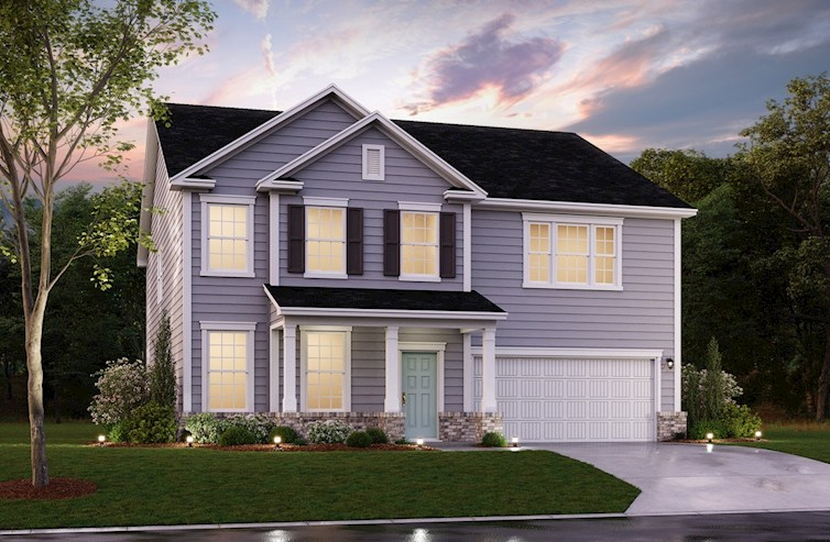 Rushmore Elevation Traditional A