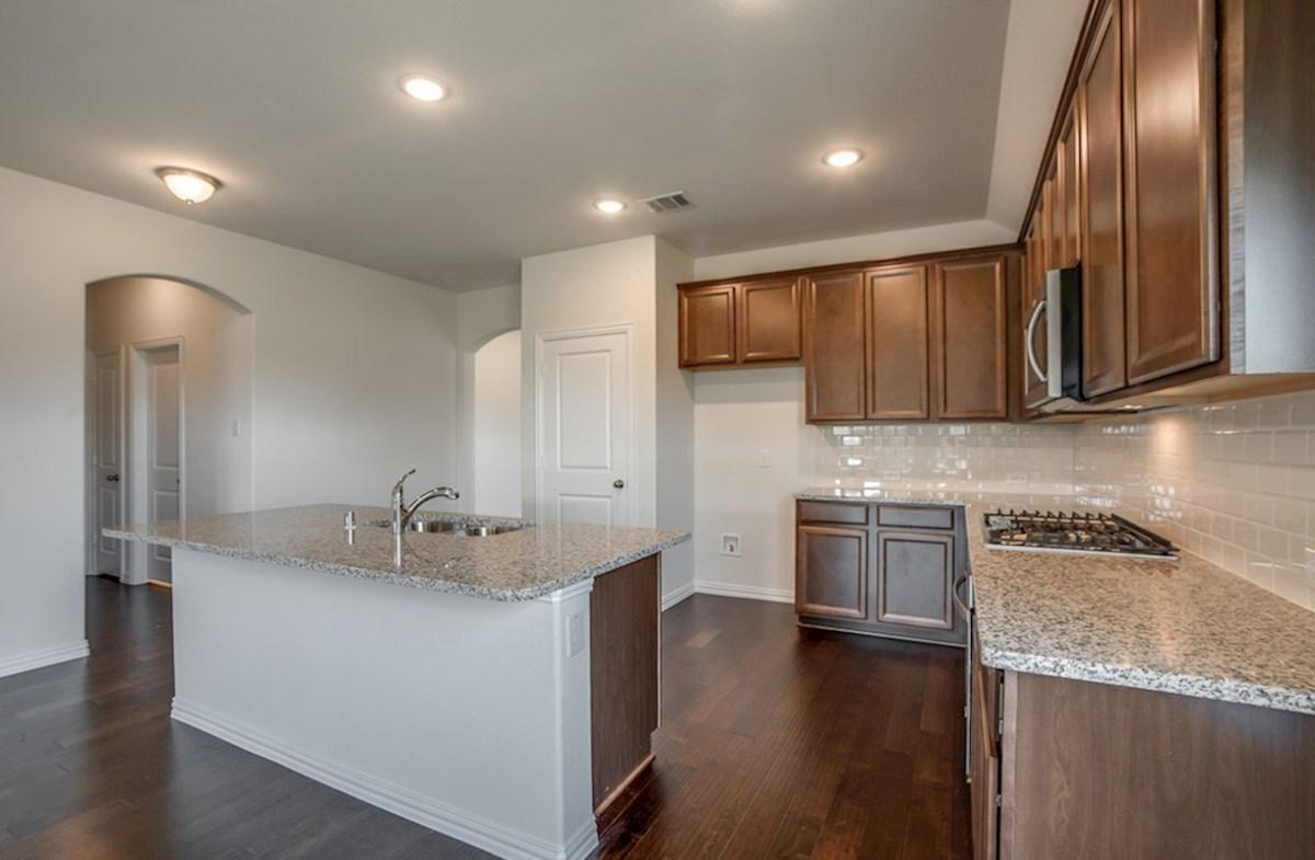 Silverado quick move-in Silverado kitchen with ample cabinet space