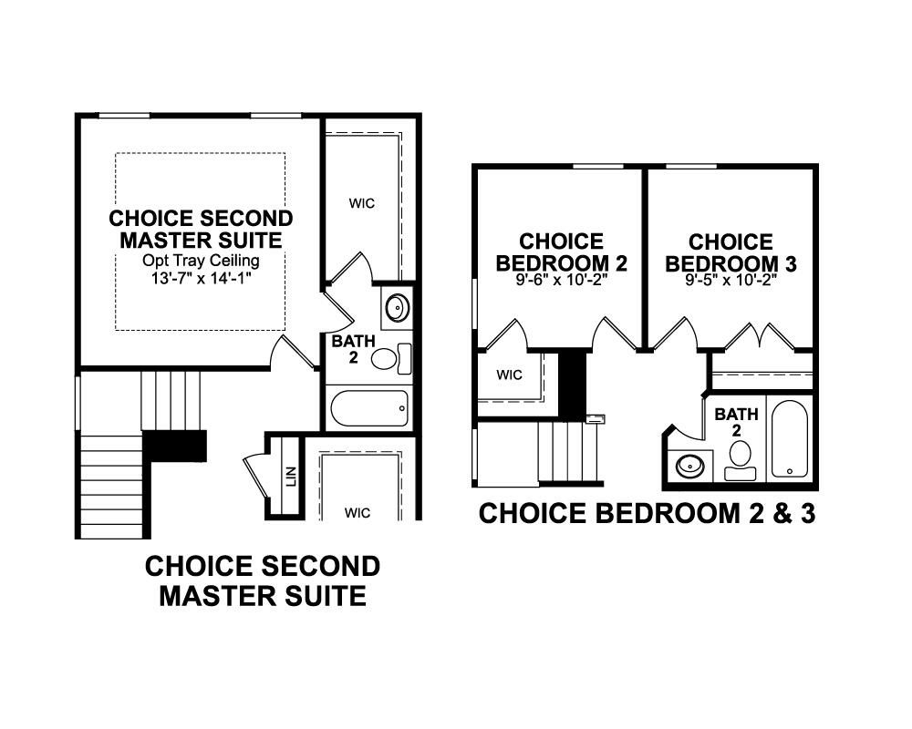 Choice options for Second Level