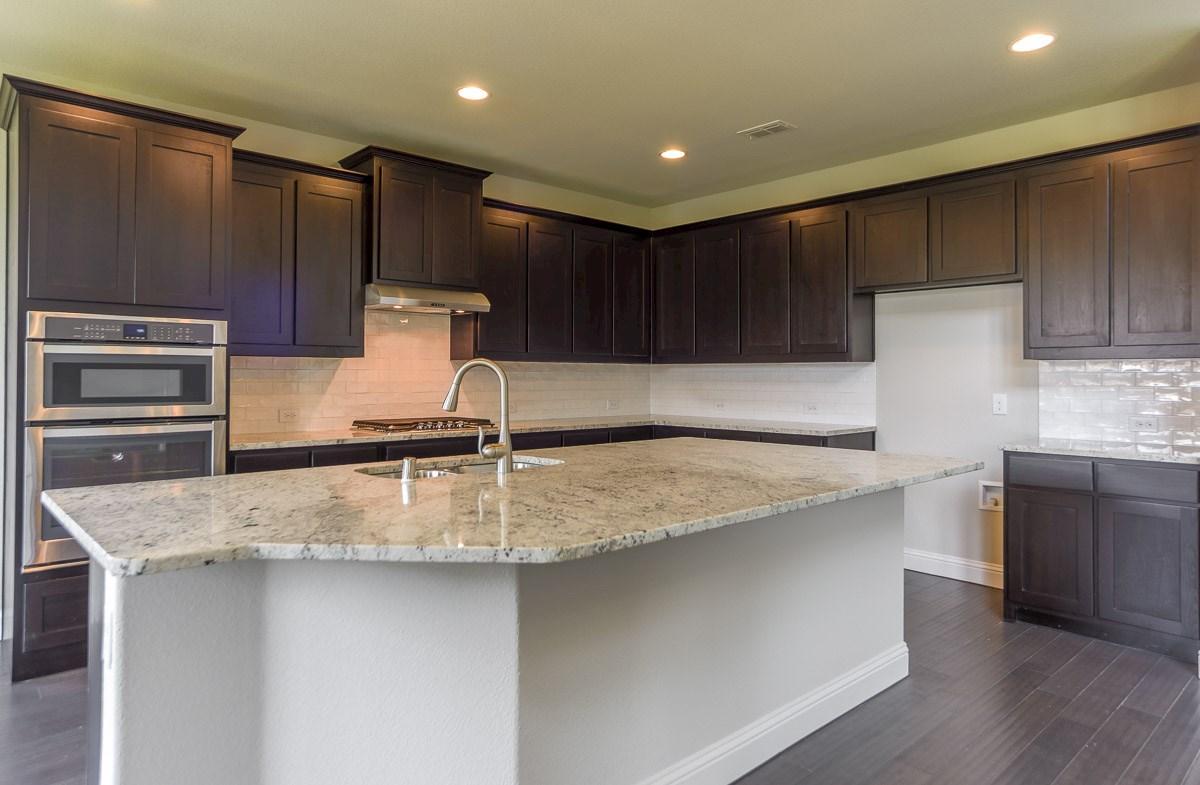 Trinity quick move-in chef's kitchen with granite countertops