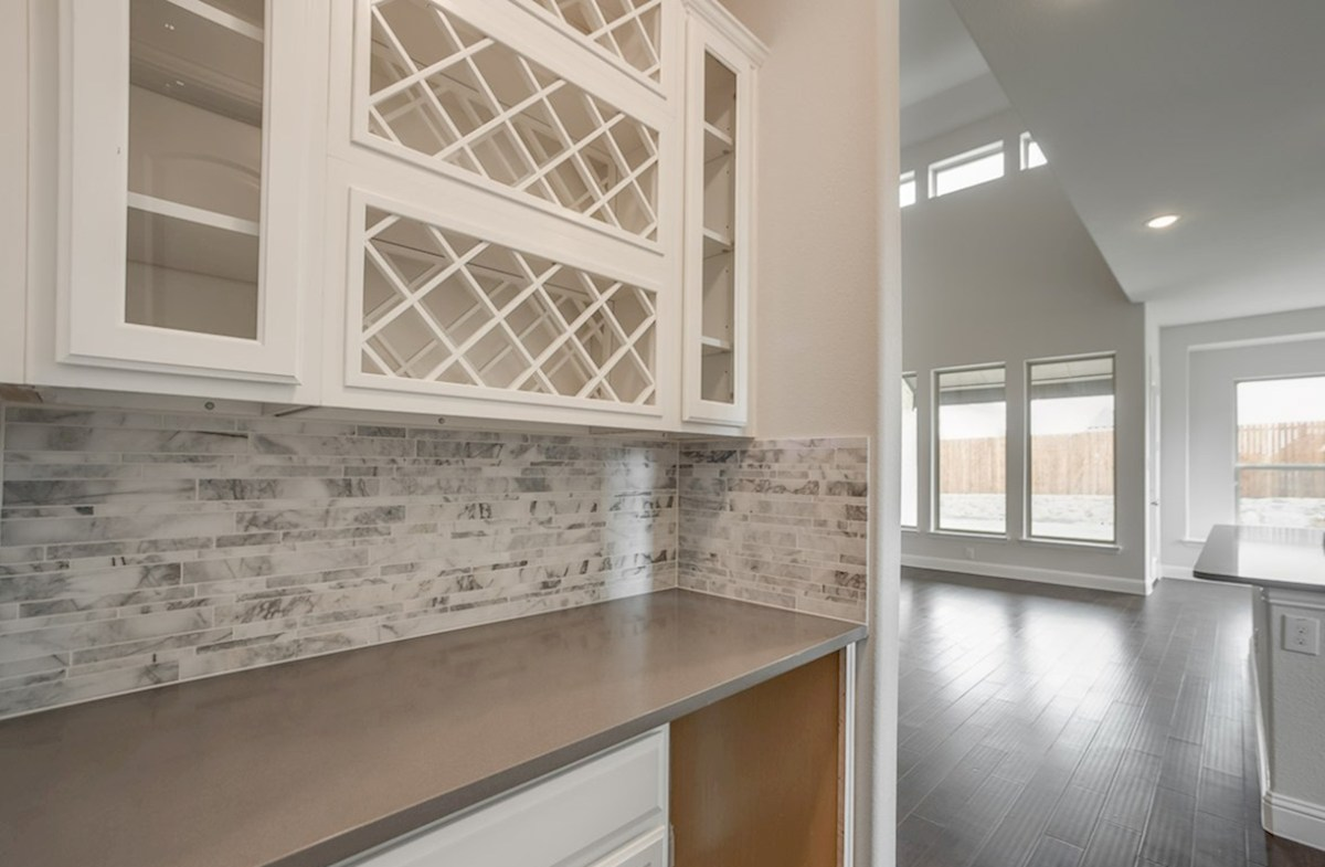 Summerfield quick move-in butcher's pantry with wine cellar