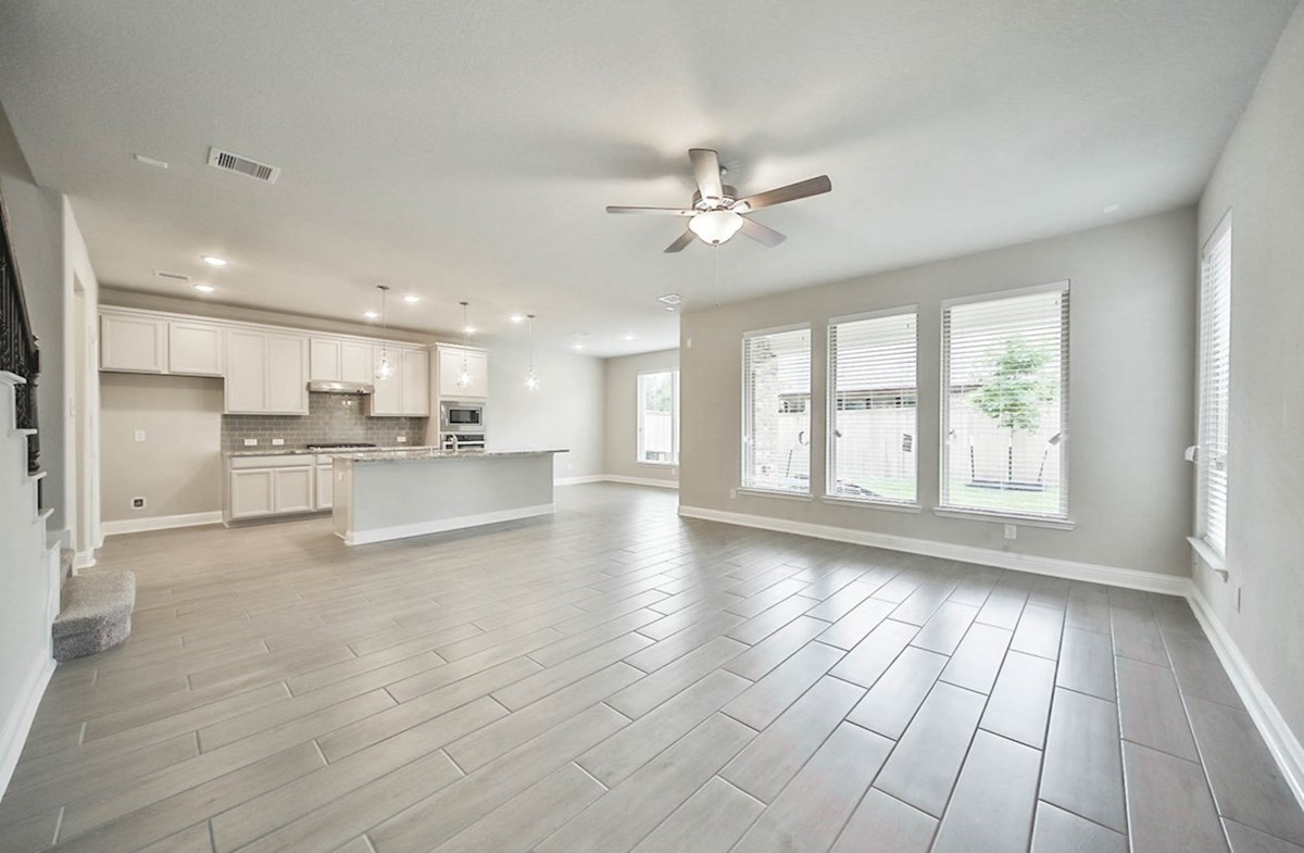 Juniper quick move-in open concept light filled great room