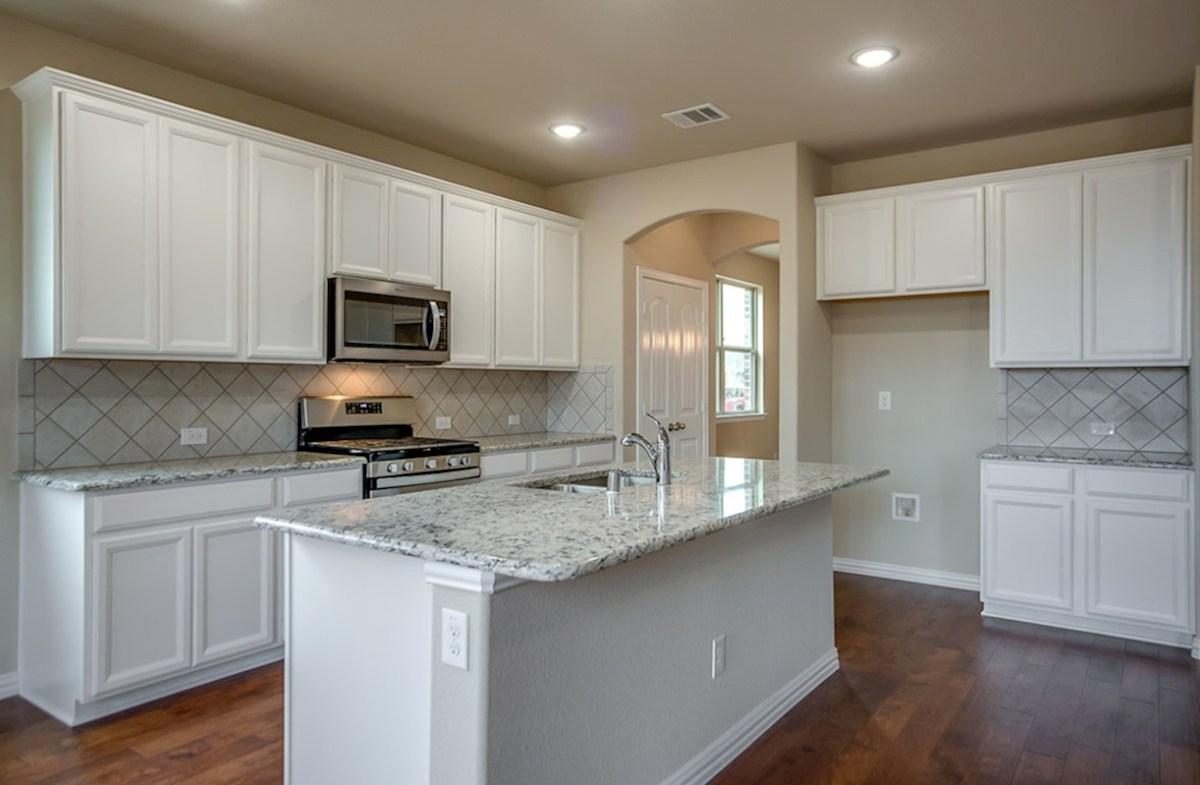 Avalon quick move-in granite countertops in kitchen