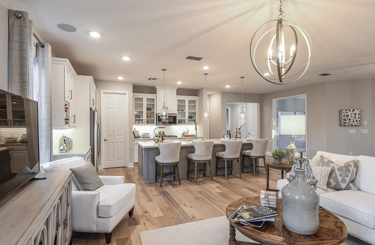 Reserve at Citrus Park Windjammer Open concept kitchen and great room