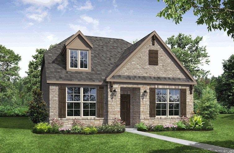 Meridian Elevation French Country A