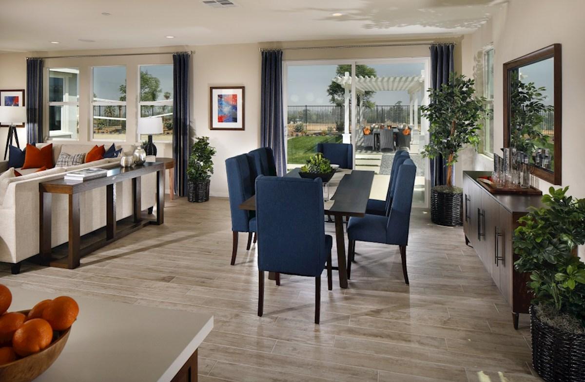 Solstice Alder Enjoy casual dining in open-concept kitchen