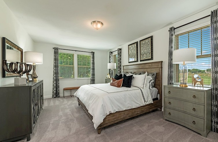 Gatherings® at Indian Lake Sherwood inviting master bedroom
