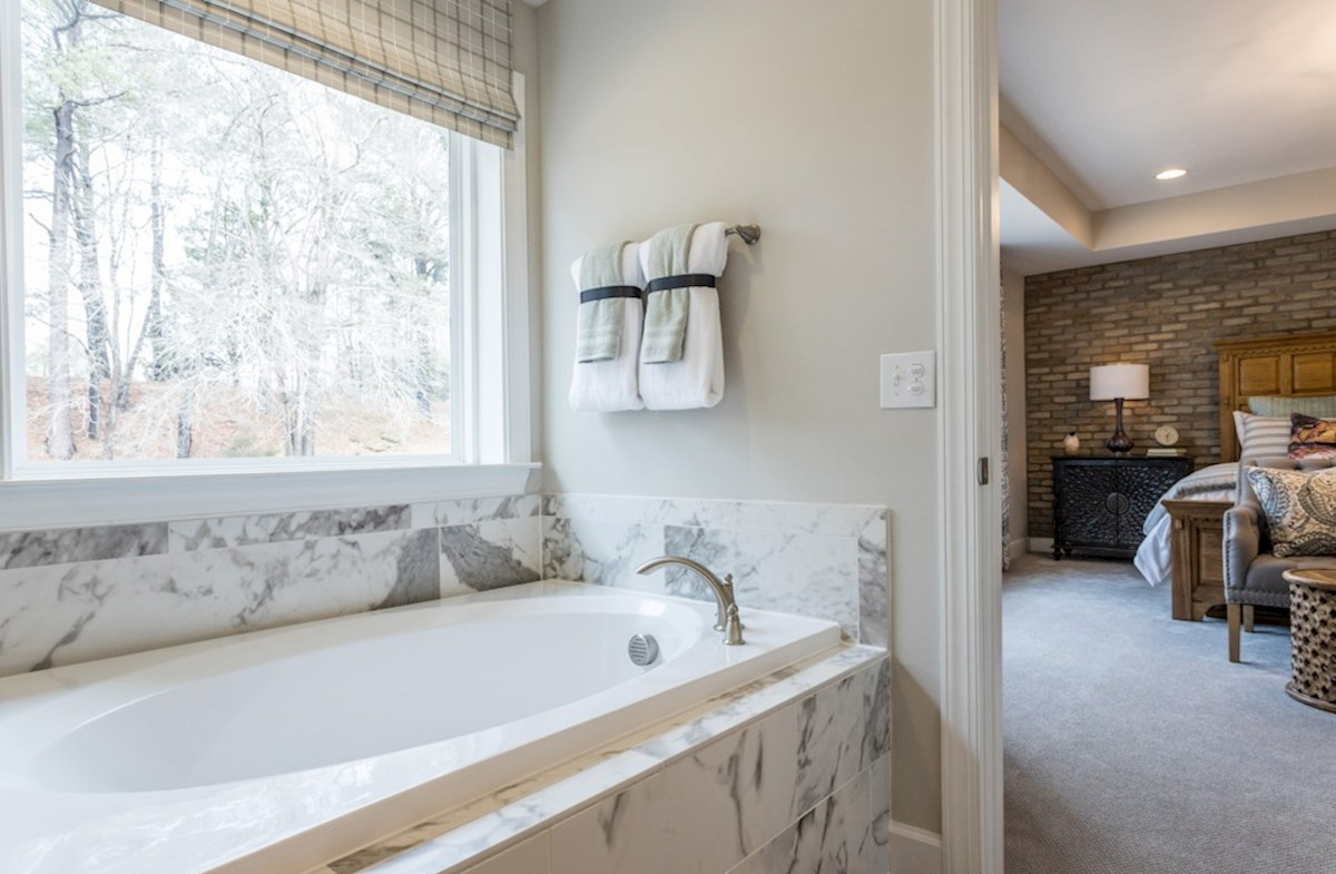Bridgeport Sage Sage master bathroom