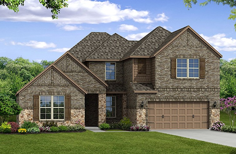 Kerrville Elevation Traditional L