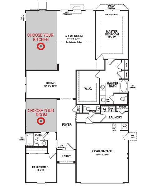Savannah Home Plan In Spring Mill Plantation Calabash Nc