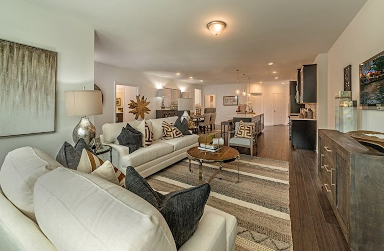 Gatherings® at Indian Lake Sherwood open-concept great room