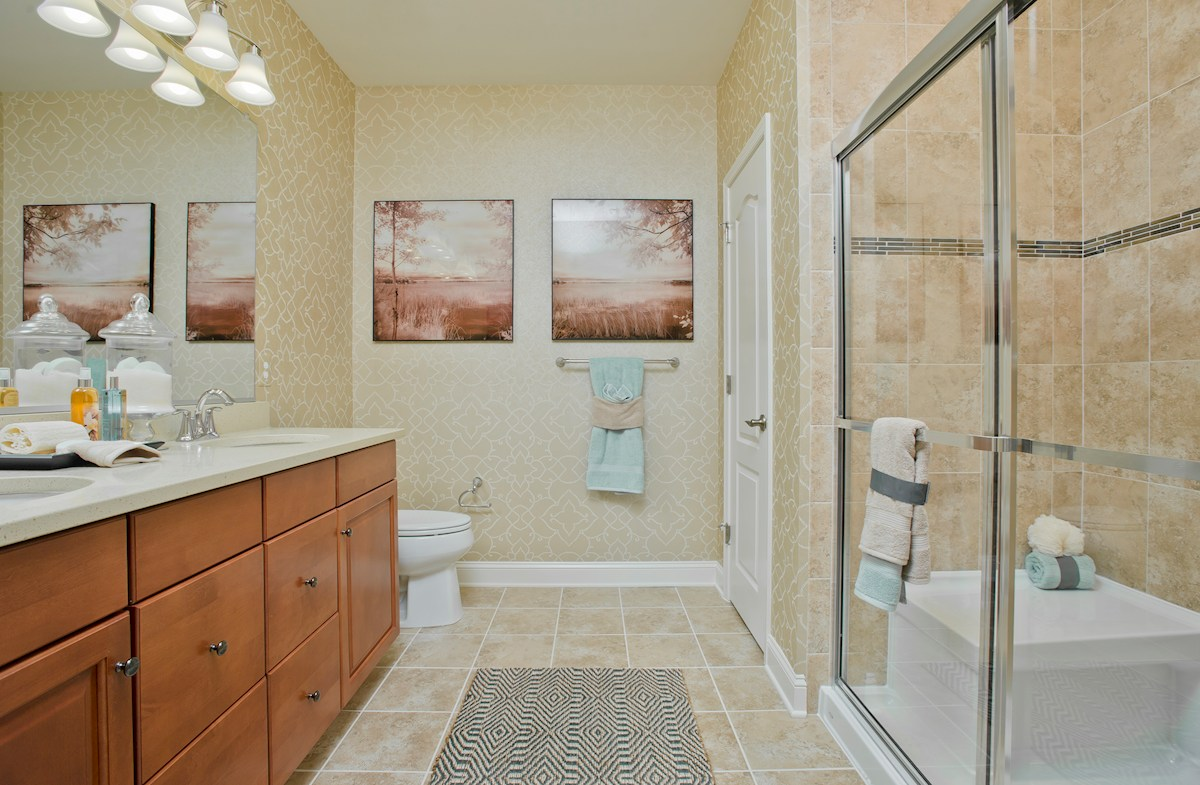 Gatherings® at Quarry Place Bradford luxurious master bathroom