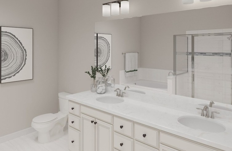 Gatherings® at Indian Lake Clifton spacious master bath