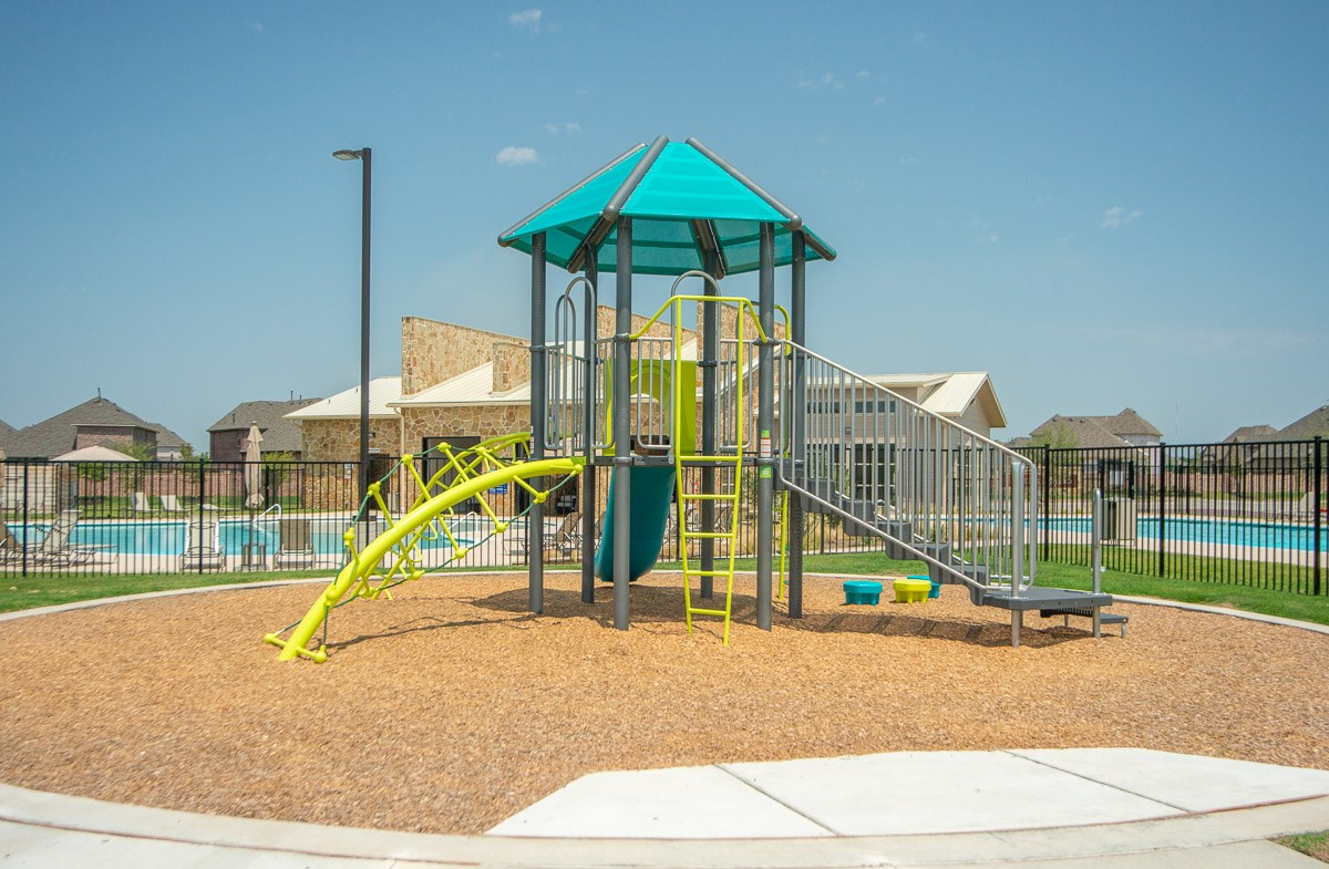 amenity center colorful playground