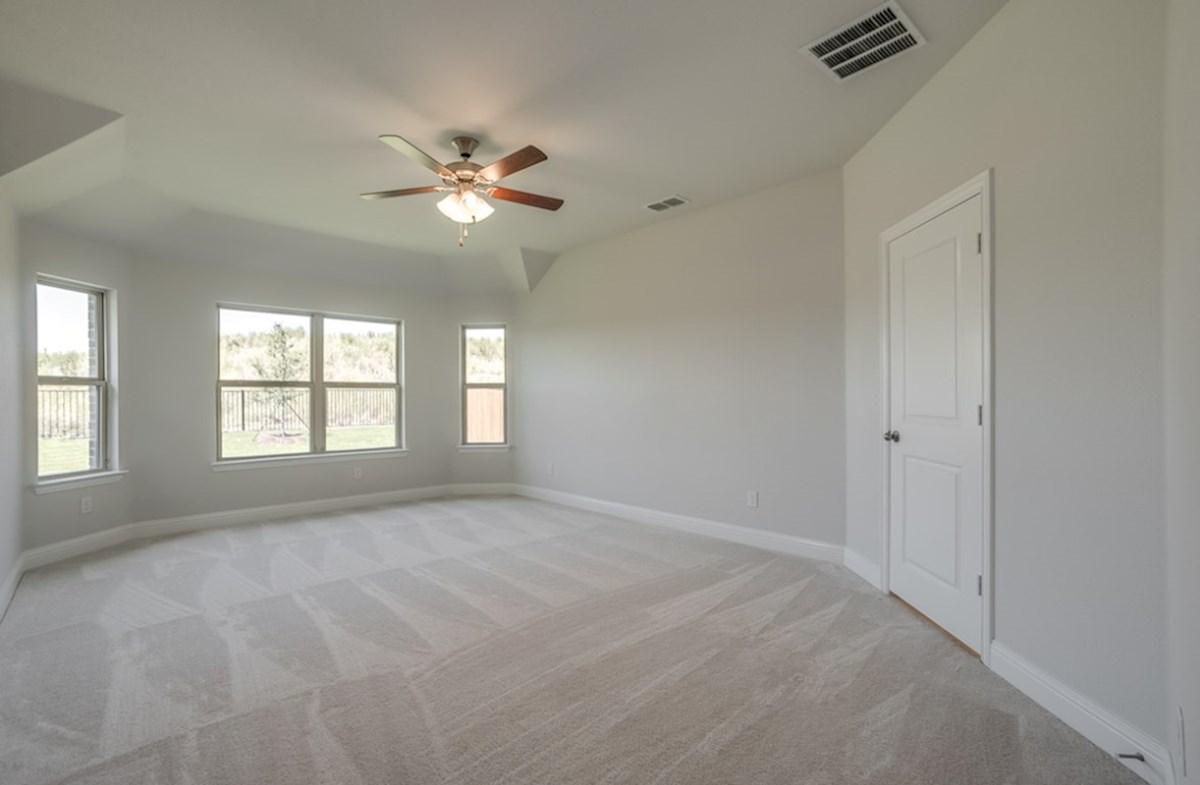 Silverado quick move-in Silverado master bedroom with large windows and natural light