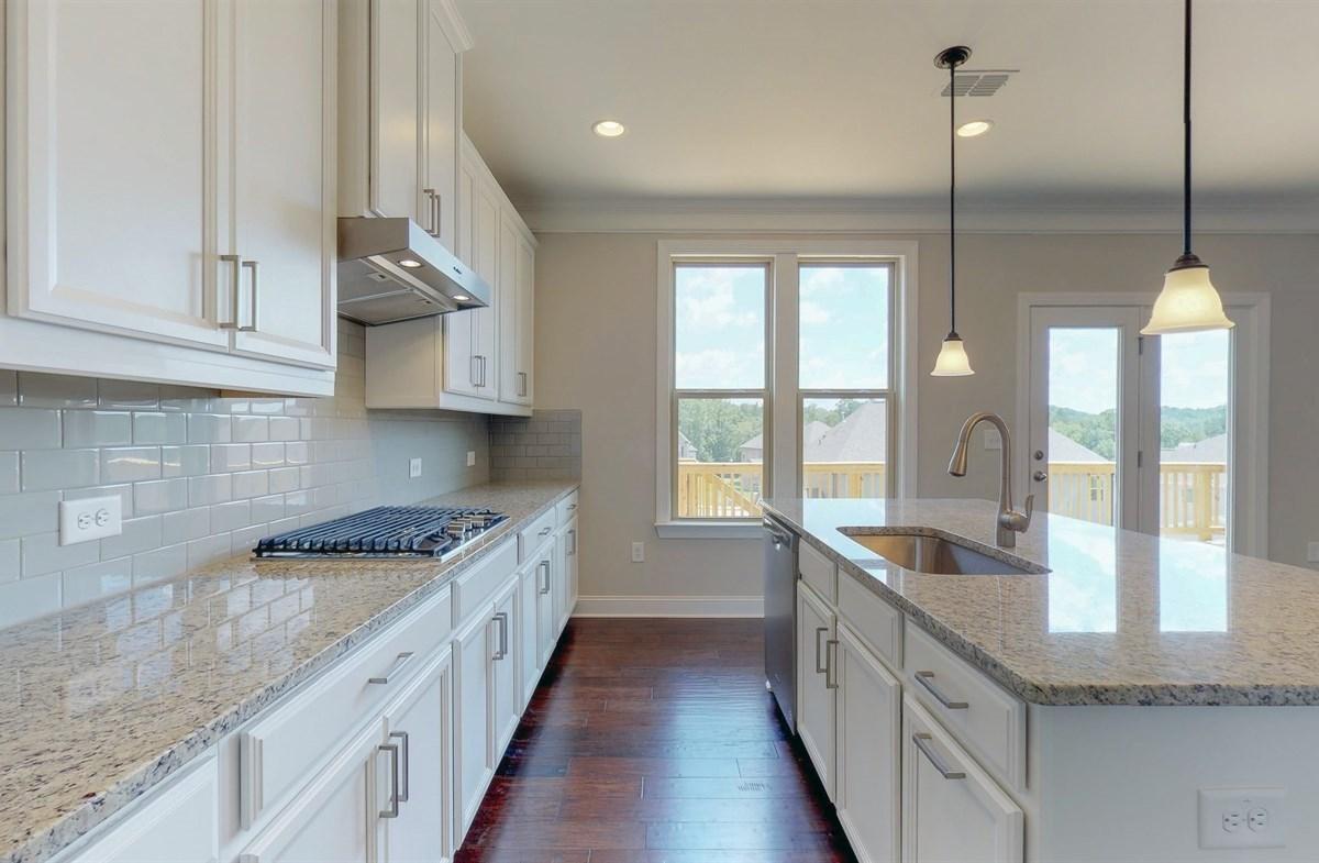 Tara quick move-in Kitchen with granite countertops