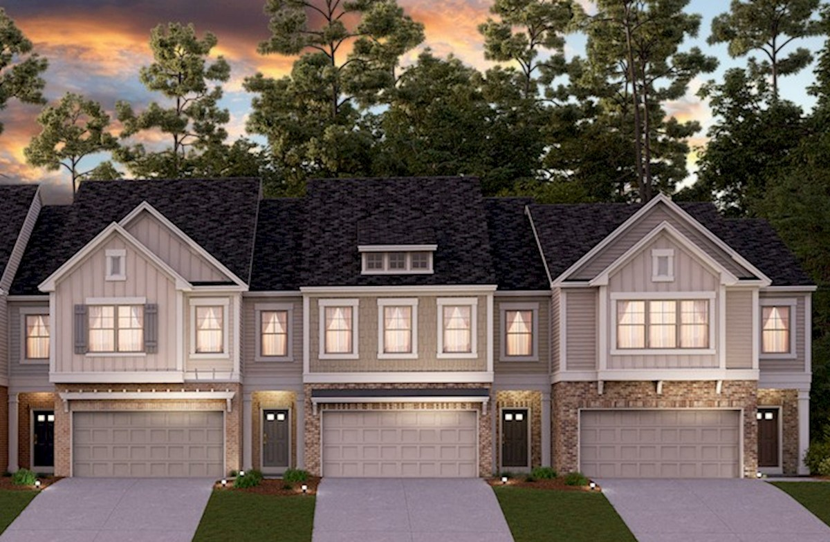 Townhome Front Elevations