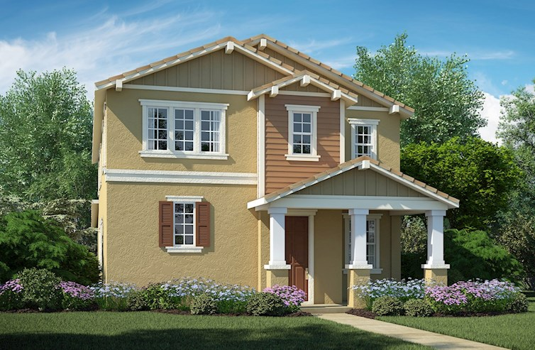 Residence 3 Elevation Traditional A