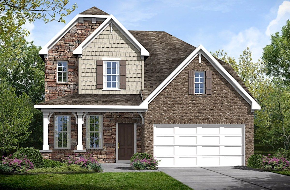 Adelaide Home Plan in Tuscan Gardens, Mt. Juliet, TN | Beazer Homes ...