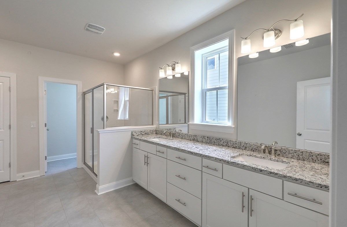 Sycamore quick move-in luxurious master bathroom