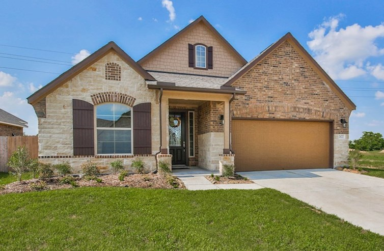 Madison Elevation French Country L quick move-in